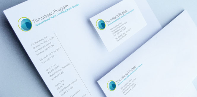 Thrombosis Program Stationery